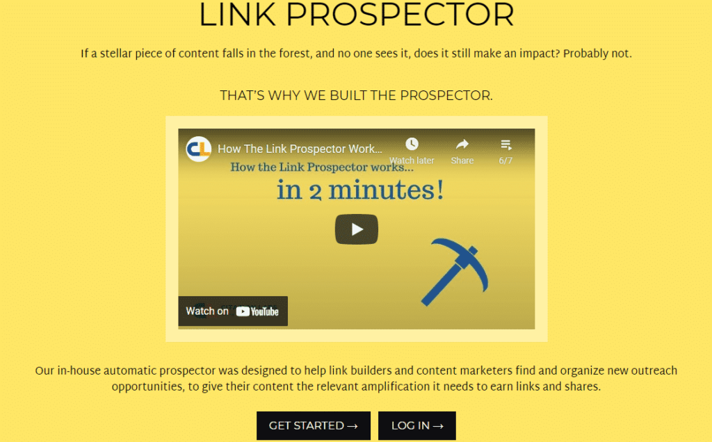 Find closely-related websites to exchange links with using Link Prospector.