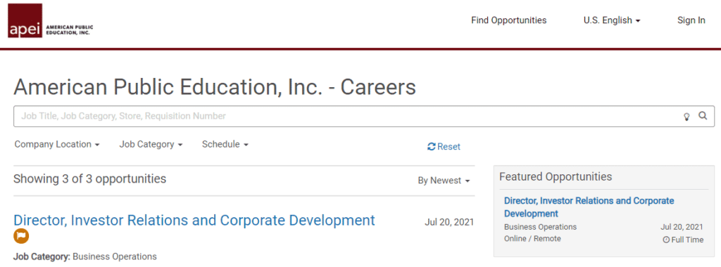 APEI's expansion allowed them to hire SEO specialists to develop their website.