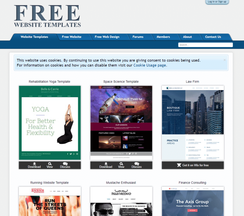 FreeWebsiteTemplates.com offers all kinds of website templates for all types of websites.