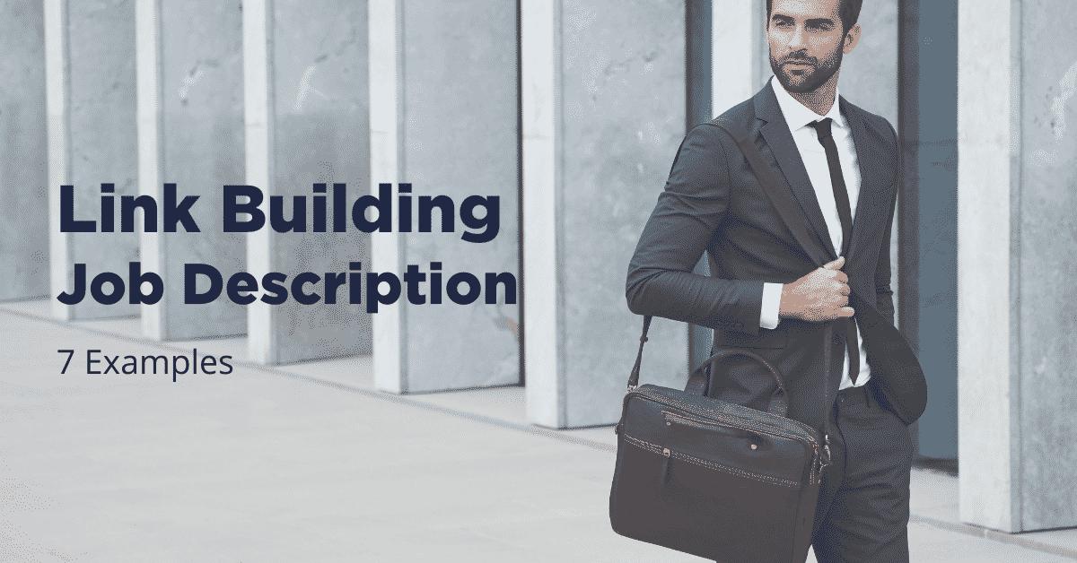 Link Building Job Description